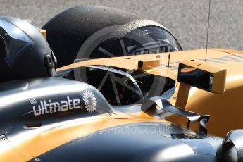 World © Octane Photographic Ltd. Formula 1 - Winter Test 1. Nico Hulkenberg - Renault Sport F1 Team R.S.17. Circuit de Barcelona-Catalunya. Monday 27th February 2017. Digital Ref : 1780LB1D8416