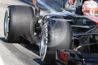 World © Octane Photographic Ltd. Formula 1 - Winter Test 1. Kevin Magnussen - Haas F1 Team VF-17. Circuit de Barcelona-Catalunya. Monday 27th February 2017. Digital Ref : 1780LB1D8504