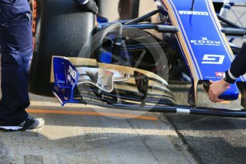 World © Octane Photographic Ltd. Formula 1 - Winter Test 1. Marcus Ericsson - Sauber F1 Team C36. Circuit de Barcelona-Catalunya. Monday 27th February 2017. Digital Ref : 1780LB5D7582