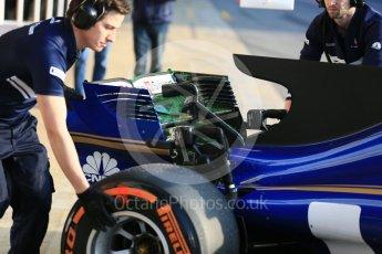 World © Octane Photographic Ltd. Formula 1 - Winter Test 1. Marcus Ericsson - Sauber F1 Team C36. Circuit de Barcelona-Catalunya. Monday 27th February 2017. Digital Ref : 1780LB5D7592