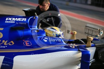 World © Octane Photographic Ltd. Formula 1 - Winter Test 1. Marcus Ericsson - Sauber F1 Team C36. Circuit de Barcelona-Catalunya. Monday 27th February 2017. Digital Ref : 1780LB5D7596