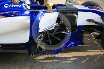 World © Octane Photographic Ltd. Formula 1 - Winter Test 1. Marcus Ericsson - Sauber F1 Team C36. Circuit de Barcelona-Catalunya. Monday 27th February 2017. Digital Ref : 1780LB5D7600