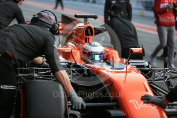World © Octane Photographic Ltd. Formula 1 - Winter Test 1. Fernando Alonso - McLaren Honda MCL32. Circuit de Barcelona-Catalunya. Monday 27th February 2017. Digital Ref : 1780LB5D7636
