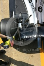 World © Octane Photographic Ltd. Formula 1 - Winter Test 1. Sergio Perez - Sahara Force India VJM10. Circuit de Barcelona-Catalunya. Monday 27th February 2017. Digital Ref : 1780LB5D7838