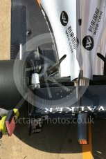 World © Octane Photographic Ltd. Formula 1 - Winter Test 1. Sergio Perez - Sahara Force India VJM10. Circuit de Barcelona-Catalunya. Monday 27th February 2017. Digital Ref : 1780LB5D7847