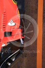 World © Octane Photographic Ltd. Formula 1 - Winter Test 1. Sebastian Vettel - Scuderia Ferrari SF70H. Circuit de Barcelona-Catalunya. Monday 27th February 2017. Digital Ref : 1780LB5D7879