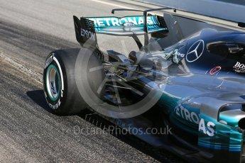 World © Octane Photographic Ltd. Formula 1 - Winter Test 1. Lewis Hamilton - Mercedes AMG Petronas F1 W08 EQ Energy+. Circuit de Barcelona-Catalunya. Monday 27th February 2017. Digital Ref : 1780LB5D7936