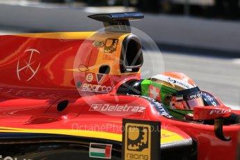 World © Octane Photographic Ltd. FIA Formula 2 (F2) - Practice. Louis Deletraz – Racing Engineering. Circuit de Barcelona - Catalunya, Spain. Friday 12th May 2017. Digital Ref: 1811CB7D4402