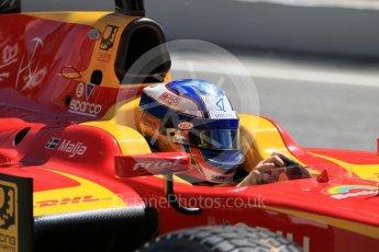 World © Octane Photographic Ltd. FIA Formula 2 (F2) - Practice. Gustav Malja – Racing Engineering. Circuit de Barcelona - Catalunya, Spain. Friday 12th May 2017. Digital Ref: 1811CB7D4405