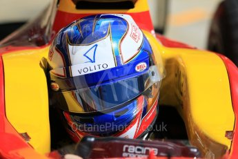World © Octane Photographic Ltd. FIA Formula 2 (F2) - Practice. Gustav Malja – Racing Engineering. Circuit de Barcelona - Catalunya, Spain. Friday 12th May 2017. Digital Ref: 1811CB7D4419