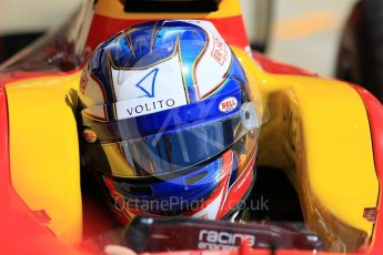 World © Octane Photographic Ltd. FIA Formula 2 (F2) - Practice. Gustav Malja – Racing Engineering. Circuit de Barcelona - Catalunya, Spain. Friday 12th May 2017. Digital Ref: 1811CB7D4421