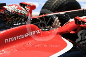 World © Octane Photographic Ltd. FIA Formula 2 (F2) - Practice. Nobuharu Matsushita – ART Grand Prix. Circuit de Barcelona - Catalunya, Spain. Friday 12th May 2017. Digital Ref:1811CB7D4468