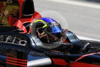 World © Octane Photographic Ltd. FIA Formula 2 (F2) - Practice. Johnny Cecotto – Rapax. Circuit de Barcelona - Catalunya, Spain. Friday 12th May 2017. Digital Ref:1811CB7D4491
