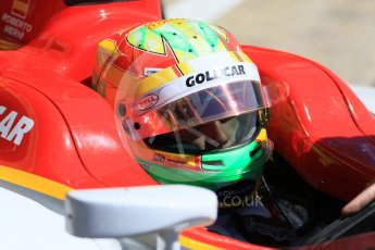World © Octane Photographic Ltd. FIA Formula 2 (F2) - Practice. Roberto Merhi – Campos Racing. Circuit de Barcelona - Catalunya, Spain. Friday 12th May 2017. Digital Ref:1811CB7D4497
