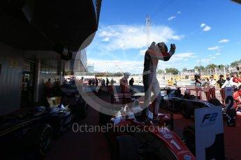 World © Octane Photographic Ltd. FIA Formula 2 (F2) - Race 1. Charles Leclerc – Prema Racing. Circuit de Barcelona - Catalunya, Spain. Friday 12th May 2017. Digital Ref:1819LB2D8554