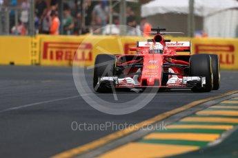 World © Octane Photographic Ltd. Formula 1 - Australian Grand Prix - Practice 1. Sebastian Vettel - Scuderia Ferrari SF70H. Albert Park Circuit. Friday 24th March 2017. Digital Ref: 1793LB1D0938