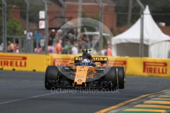 World © Octane Photographic Ltd. Formula 1 - Australian Grand Prix - Practice 1. Jolyon Palmer - Renault Sport F1 Team R.S.17. Albert Park Circuit. Friday 24th March 2017. Digital Ref: 1793LB1D0982