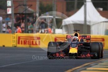 World © Octane Photographic Ltd. Formula 1 - Australian Grand Prix - Practice 1. Daniel Ricciardo - Red Bull Racing RB13. Albert Park Circuit. Friday 24th March 2017. Digital Ref: 1793LB1D1078