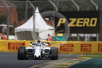 World © Octane Photographic Ltd. Formula 1 - Australian Grand Prix - Practice 1. Lance Stroll - Williams Martini Racing FW40. Albert Park Circuit. Friday 24th March 2017. Digital Ref: 1793LB1D1122