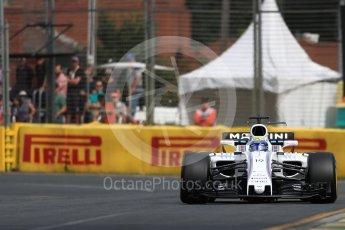 World © Octane Photographic Ltd. Formula 1 - Australian Grand Prix - Practice 1. Felipe Massa - Williams Martini Racing FW40. Albert Park Circuit. Friday 24th March 2017. Digital Ref: 1793LB1D1133
