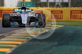 World © Octane Photographic Ltd. Formula 1 - Australian Grand Prix - Practice 1. Valtteri Bottas - Mercedes AMG Petronas F1 W08 EQ Energy+. Albert Park Circuit. Friday 24th March 2017. Digital Ref: 1793LB1D1277