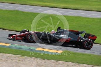 World © Octane Photographic Ltd. Formula 1 - Australian Grand Prix - Practice 1. Kevin Magnussen - Haas F1 Team VF-17. Albert Park Circuit. Friday 24th March 2017. Digital Ref: 1793LB1D2102
