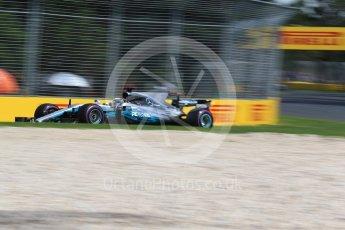 World © Octane Photographic Ltd. Formula 1 - Australian Grand Prix - Practice 1. Lewis Hamilton - Mercedes AMG Petronas F1 W08 EQ Energy+. Albert Park Circuit. Friday 24th March 2017. Digital Ref: 1793LB2D4199