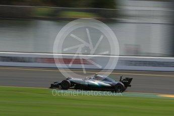 World © Octane Photographic Ltd. Formula 1 - Australian Grand Prix - Practice 1. Valtteri Bottas - Mercedes AMG Petronas F1 W08 EQ Energy+. Albert Park Circuit. Friday 24th March 2017. Digital Ref: 1793LB2D4551
