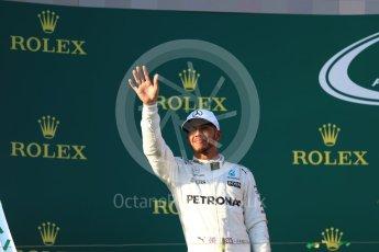 World © Octane Photographic Ltd. Formula 1 - Australian Grand Prix - Grid. Lewis Hamilton - Mercedes AMG Petronas F1 W08 EQ Energy+. Albert Park Circuit. Sunday 26th March 2017. Digital Ref: 1803LB1D8064