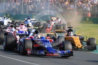 World © Octane Photographic Ltd. Formula 1 - Australian Grand Prix - Race. Nico Hulkenberg - Renault Sport F1 Team R.S.17. Albert Park Circuit. Sunday 26th March 2017. Digital Ref: 1802LB1D6011