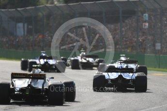 World © Octane Photographic Ltd. Formula 1 - Australian Grand Prix - Race. The grid. Albert Park Circuit. Sunday 26th March 2017. Digital Ref: 1802LB1D6026