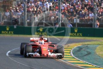 World © Octane Photographic Ltd. Formula 1 - Australian Grand Prix - Race. Sebastian Vettel - Scuderia Ferrari SF70H. Albert Park Circuit. Sunday 26th March 2017. Digital Ref: 1802LB1D6043
