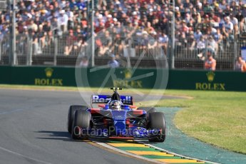 World © Octane Photographic Ltd. Formula 1 - Australian Grand Prix - Race. Sebastian Vettel - Scuderia Ferrari SF70H. Albert Park Circuit. Sunday 26th March 2017. Digital Ref: 1802LB1D6214