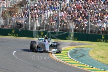 World © Octane Photographic Ltd. Formula 1 - Australian Grand Prix - Race. Valtteri Bottas - Mercedes AMG Petronas F1 W08 EQ Energy+. Albert Park Circuit. Sunday 26th March 2017. Digital Ref: 1802LB1D6362