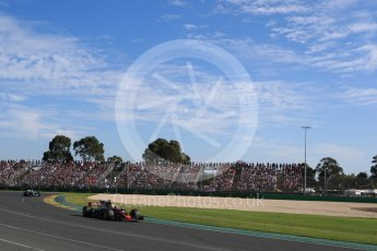 World © Octane Photographic Ltd. Formula 1 - Australian Grand Prix - Race. Kevin Magnussen - Haas F1 Team VF-17. Albert Park Circuit. Sunday 26th March 2017. Digital Ref: 1802LB1D6418