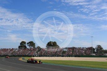 World © Octane Photographic Ltd. Formula 1 - Australian Grand Prix - Race. Daniel Ricciardo - Red Bull Racing RB13. Albert Park Circuit. Sunday 26th March 2017. Digital Ref: 1802LB1D6476