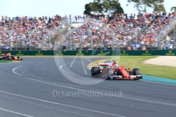 World © Octane Photographic Ltd. Formula 1 - Australian Grand Prix - Race. Kimi Raikkonen - Scuderia Ferrari SF70H. Albert Park Circuit. Sunday 26th March 2017. Digital Ref: 1802LB2D5632