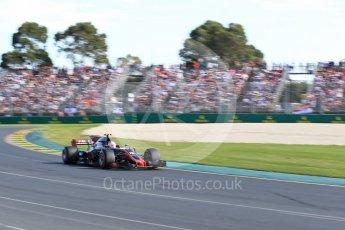 World © Octane Photographic Ltd. Formula 1 - Australian Grand Prix - Race. Kevin Magnussen - Haas F1 Team VF-17. Albert Park Circuit. Sunday 26th March 2017. Digital Ref: 1802LB2D5700