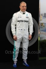 World © Octane Photographic Ltd. Formula 1 - Australian Grand Prix - FIA Driver Photo Call. Valtteri Bottas - Mercedes AMG Petronas F1 W08 EQ Energy+. Albert Park Circuit. Thursday 23rd March 2017. Digital Ref: 1790LB1D7980