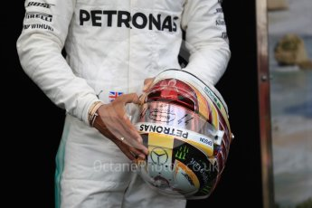 World © Octane Photographic Ltd. Formula 1 - Australian Grand Prix - FIA Driver Photo Call. Lewis Hamilton - Mercedes AMG Petronas F1 W08 EQ Energy+. Albert Park Circuit. Thursday 23rd March 2017. Digital Ref: 1790LB1D8103