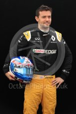World © Octane Photographic Ltd. Formula 1 - Australian Grand Prix - FIA Driver Photo Call. Jolyon Palmer - Renault Sport F1 Team R.S.17. Albert Park Circuit. Thursday 23rd March 2017. Digital Ref: 1790LB1D8194