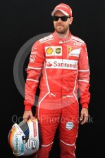 World © Octane Photographic Ltd. Formula 1 - Australian Grand Prix - FIA Driver Photo Call. Sebastian Vettel - Scuderia Ferrari SF70H. Albert Park Circuit. Thursday 23rd March 2017. Digital Ref: 1790LB1D8726