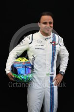 World © Octane Photographic Ltd. Formula 1 - Australian Grand Prix - FIA Driver Photo Call. Felipe Massa - Williams Martini Racing FW40. Albert Park Circuit. Thursday 23rd March 2017. Digital Ref: 1790LB1D9006