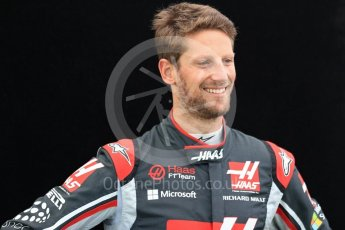 World © Octane Photographic Ltd. Formula 1 - Australian Grand Prix - FIA Driver Photo Call. Romain Grosjean - Haas F1 Team VF-17. Albert Park Circuit. Thursday 23rd March 2017. Digital Ref: 1790LB1D9526