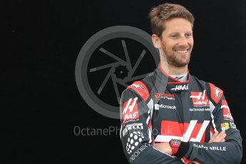 World © Octane Photographic Ltd. Formula 1 - Australian Grand Prix - FIA Driver Photo Call. Romain Grosjean - Haas F1 Team VF-17. Albert Park Circuit. Thursday 23rd March 2017. Digital Ref: 1790LB1D9589