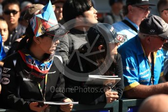 World © Octane Photographic Ltd. Formula 1 - Australian Grand Prix - Thursday - Fans on the Melbourne Walk. Albert Park Circuit. Thursday 23rd March 2017. Digital Ref: 1789LB1D7852