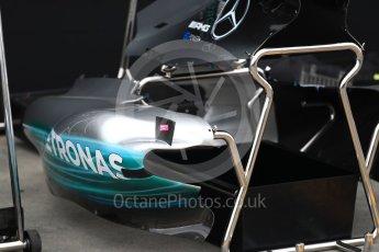 World © Octane Photographic Ltd. Formula 1 - Australian Grand Prix - Wednesday Setup. Mercedes AMG Petronas F1 W08 EQ Energy+. Albert Park Circuit. Wednesday 22nd March 2017. Digital Ref: 1788LB1D7691