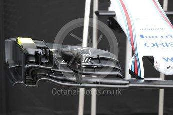 World © Octane Photographic Ltd. Formula 1 - Australian Grand Prix - Wednesday Setup. Williams Martini Racing FW40. Albert Park Circuit. Wednesday 22nd March 2017. Digital Ref: 1788LB1D7713