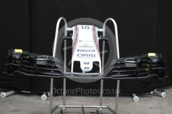 World © Octane Photographic Ltd. Formula 1 - Australian Grand Prix - Wednesday Setup. Williams Martini Racing FW40. Albert Park Circuit. Wednesday 22nd March 2017. Digital Ref: 1788LB1D7717