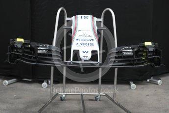 World © Octane Photographic Ltd. Formula 1 - Australian Grand Prix - Wednesday Setup. Williams Martini Racing FW40. Albert Park Circuit. Wednesday 22nd March 2017. Digital Ref: 1788LB1D7719